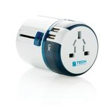 Adapter podróżny Travel Blue z USB