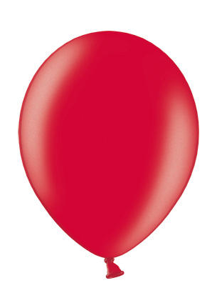 Balon Metallic Cherry Red